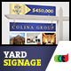 Modern Real Estate Yard Signage 2 + Riders - GraphicRiver Item for Sale