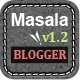 Masala - Responsive Blogger Template - ThemeForest Item for Sale