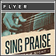 Sing Praise Flyer/Poster Template - GraphicRiver Item for Sale