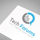 Tech Forums Logo Template - GraphicRiver Item for Sale
