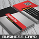 Edgy Business Card - GraphicRiver Item for Sale