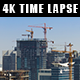 Construction of New Buildings in a Modern City - VideoHive Item for Sale