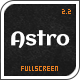 Astro - Showcase/Photography Wordpress Theme - ThemeForest Item for Sale