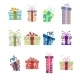 Collection of Present Boxes - GraphicRiver Item for Sale