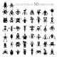 Robot Icons - GraphicRiver Item for Sale