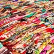 Rows Of Colorful Scarfs - PhotoDune Item for Sale