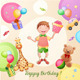 Happy Birthday Illustration - GraphicRiver Item for Sale
