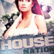 House Nation Party Flyer Template - GraphicRiver Item for Sale