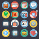 Flat Icons for Web and Applications Set 2 - GraphicRiver Item for Sale