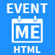 EventMe - Responsive Event Landing Page - ThemeForest Item for Sale