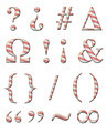 Candy Cane Alphabet - PhotoDune Item for Sale
