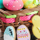 cookies and colored eggs for Easter Day - PhotoDune Item for Sale