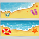 Summer Beach Background - GraphicRiver Item for Sale