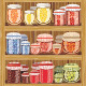 Store Shelves with Jam - GraphicRiver Item for Sale