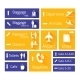 Airport Navigation Infographic Design Elements - GraphicRiver Item for Sale