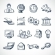 Infographic Sketch Icons - GraphicRiver Item for Sale