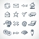 Internet Sketch Icons - GraphicRiver Item for Sale