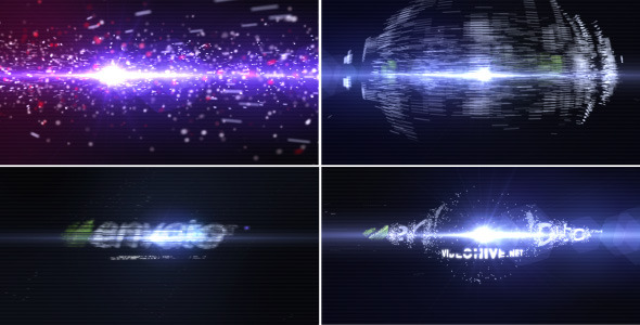 After Effects Project - VideoHive Particle Effect 3 Logo Reveal 771851
