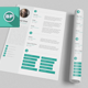 Flat Resume V2 - GraphicRiver Item for Sale