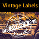 Vintage Labels and Badges - GraphicRiver Item for Sale