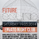 Futuristisc-Retro Flyer Template - GraphicRiver Item for Sale