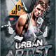 Urban Artist Party Flyer - GraphicRiver Item for Sale
