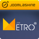 JSN Metro - Responsive Joomla Creative Template - ThemeForest Item for Sale