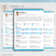 Creative Resume Template Design - GraphicRiver Item for Sale