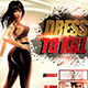 Dress to Kill Flyer Template - GraphicRiver Item for Sale