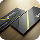 Modern Grey Business Card - GraphicRiver Item for Sale