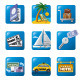 Tourism Icon Set - GraphicRiver Item for Sale