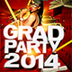 Grad Party 2014 - GraphicRiver Item for Sale