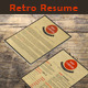 Retro Resume  - GraphicRiver Item for Sale