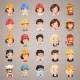 Professions Vector Characters Icons Set1.3 - GraphicRiver Item for Sale