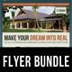 3 in 1 Real Estate Corporate Flyer Bundle 03 - GraphicRiver Item for Sale