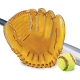 Baseball Equipment Vector Set - GraphicRiver Item for Sale