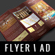 HOTEL - A4 TRIFOLD FLYER - GraphicRiver Item for Sale