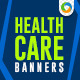 Healthcare Banner Set - GraphicRiver Item for Sale