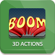 Hi-Res 3D Actions - 300 DPI