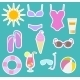 Beach Set - GraphicRiver Item for Sale