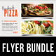 3 in 1 Food And Pizza Menu Flyer Bundle 03 - GraphicRiver Item for Sale