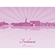 Toulouse Skyline - GraphicRiver Item for Sale