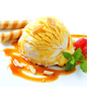 Ice cream with caramel sauce - PhotoDune Item for Sale