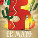 Cinco De Mayo Flyer Template V3 - GraphicRiver Item for Sale