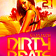 Summer Dirty Beats Flyer Template PSD - GraphicRiver Item for Sale