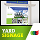 Modern Real Estate Yard Signage 3 + Riders - GraphicRiver Item for Sale