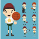Set of Boy and Sport - GraphicRiver Item for Sale