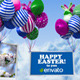 Easter Balloons - VideoHive Item for Sale