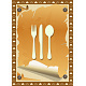 Restaurant Card, Vintage Torn Design - GraphicRiver Item for Sale