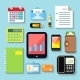 Business Items and Mobile Devices - GraphicRiver Item for Sale